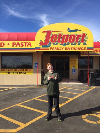Jet Port Restaurant: The chicken fingers are the best!