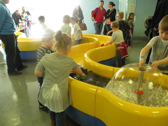 Techniquest: fun with the water