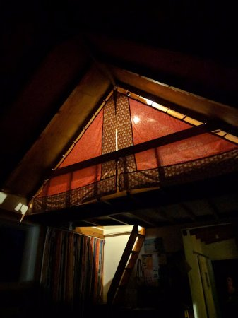 Tokomaru, New Zealand: our cute loft room