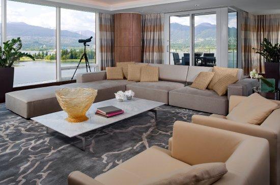 Fairmont Pacific Rim: Prime Minister's Suite Living Room