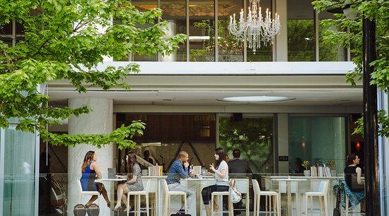 Fairmont Pacific Rim: The Lobby Lounge and RawBar Exterior