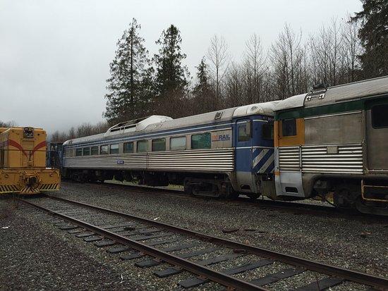 Squamish, Canada: BC RDC (Rail Diesel Car)