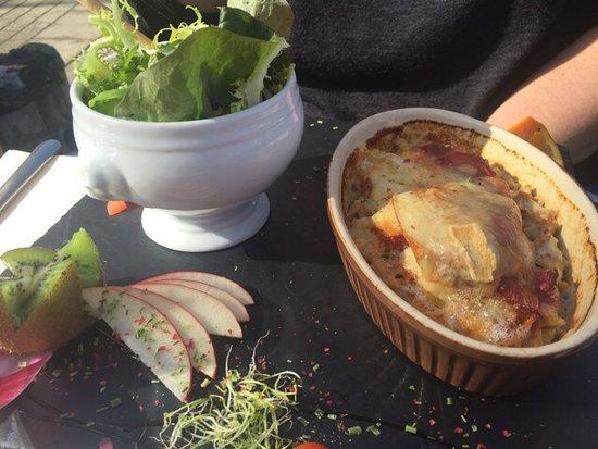 L'Igloo Gourmand : Un endroit a ne rater sous aucun prétexte!!!! Les assiettes sont aussi belles que bonnes avec un
