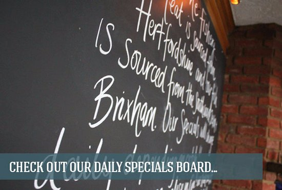The Fishery Elstree: Regular Daily Specials Available