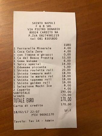 Cardito, อิตาลี: Conto