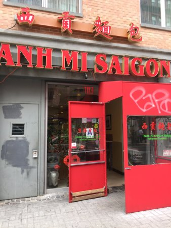 Photo of Fast Food Restaurant Saigon Banh Mi Bakery at 198 Grand St, New York, NY 10013, United States