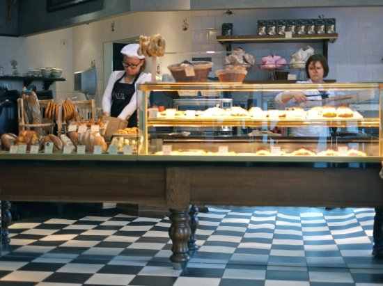 Paul Patisserie : Paul, Marble Arch, counter
