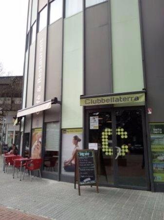 Bellaterra, España: Entrada restaurante