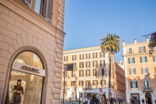 Rome 55: vista dalla finestra