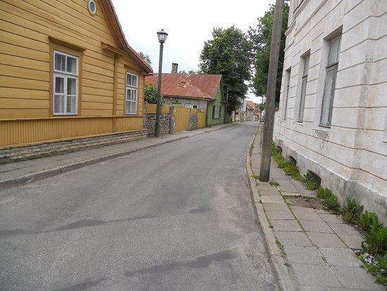 Haapsalu, Εσθονία: Kapeita teitä.