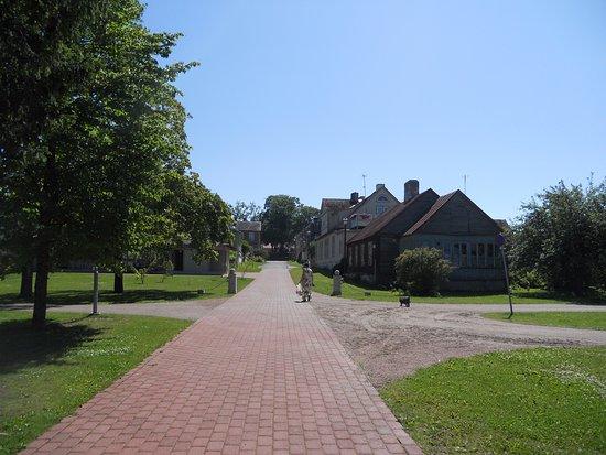 Haapsalu, Estonia: Kävelykatuja.
