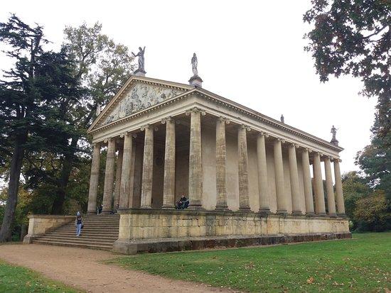 Бакингем, UK: Temple of concord and victory