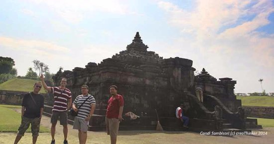 Bantul, Indonesia: More fun in 6 meters below ground temple