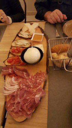 Ponsacco, Italië: Tagliere salumi e formaggi