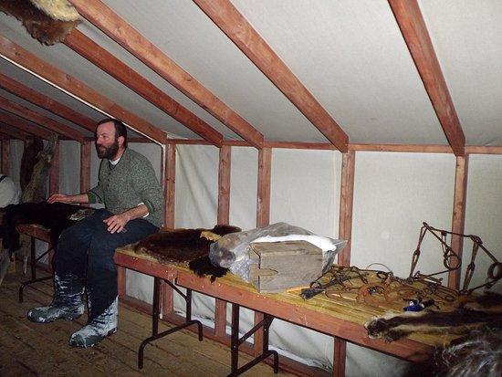 Pourvoirie Du Lac Blanc : Tony, le trappeur