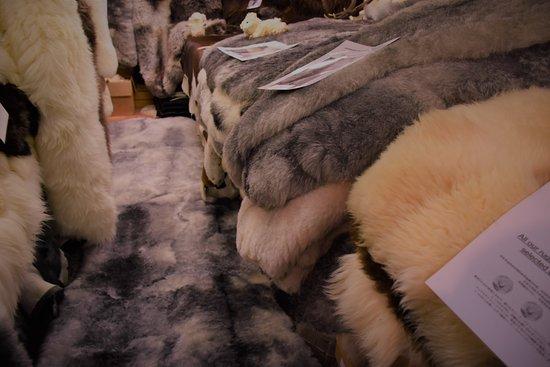Herdwick Sheepskin. Ambleside Sheepskins, Ambleside, Cumbria, LA22 9DU. Well worth a visit.