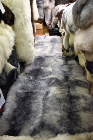 Herdwick Sheepskin. Ambleside Sheepskins, Ambleside, Cumbria, LA22 9DU. Well worth a visit.