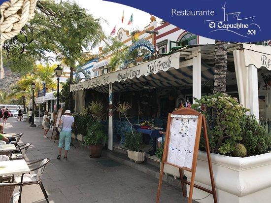 Restaurante El Capuchino 501: Exteriores 2