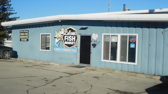 Kewaunee, WI: LaFonds Fish Market
