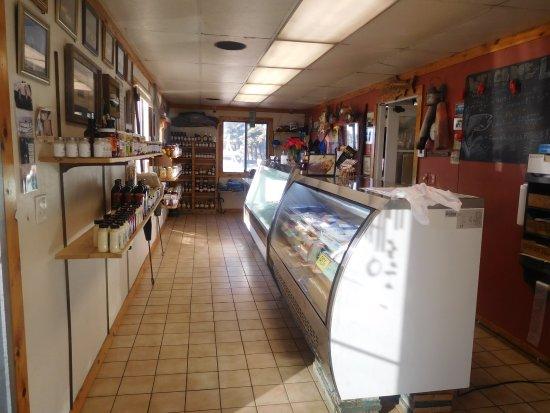 Kewaunee, WI: LaFond's Fish Market Interior