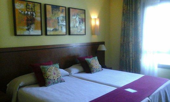Boltana, Espanha: Bonita habitación de este hotel de 5 estrellas.