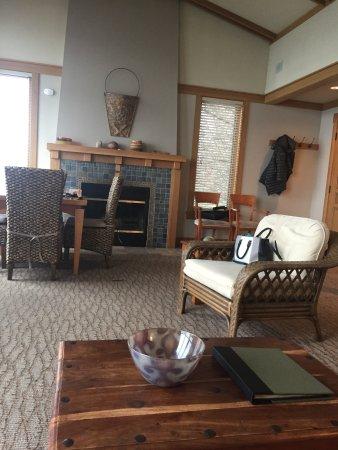 Langley, WA: The living area