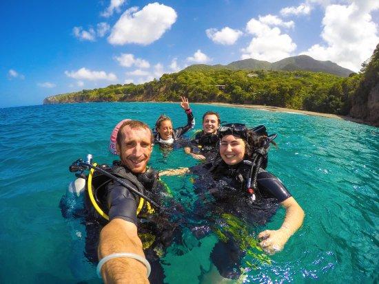 Little Bay, מונסראט: Best dive crew!