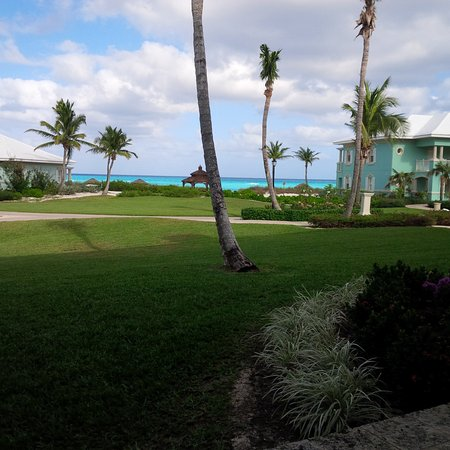 Sandals Emerald Bay Golf, Tennis and Spa Resort: What we see from our room.