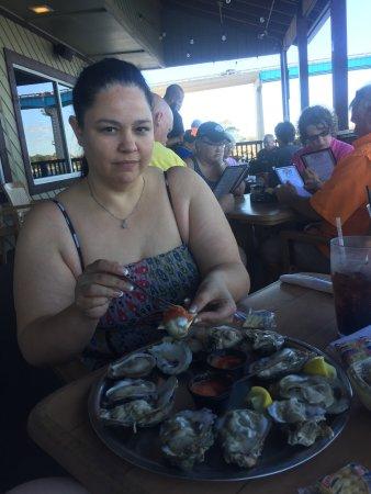 Perdido Key Oyster Bar Restaurant: Huge oysters yum!!!!