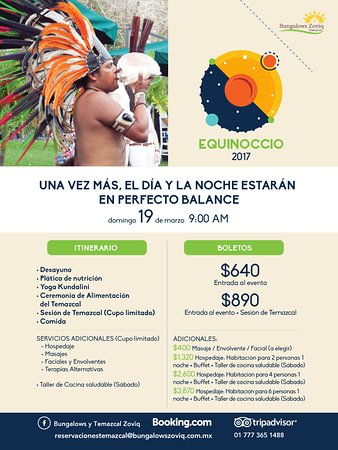 Xochitepec, Meksiko: Every year we make a Ceremony to celebrate the Equinox and fill our bodies and spirit with energ
