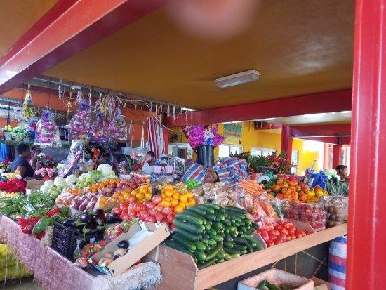 วิกตอเรีย, เซเชลส์: Fruits and vegetables galore.