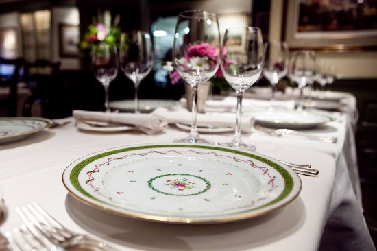 1789 Restaurant : Place Setting