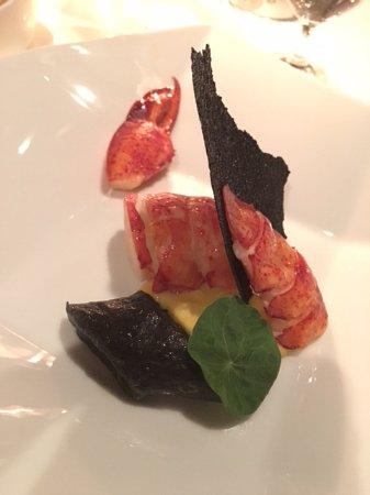 La Mer -  L'Aperitif: Poached lobster