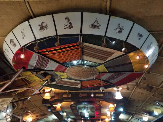 Interesting restaurant roof decoration picture of yod