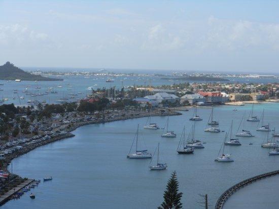 Marigot, St. Maarten-St. Martin: Views from Fort Louis
