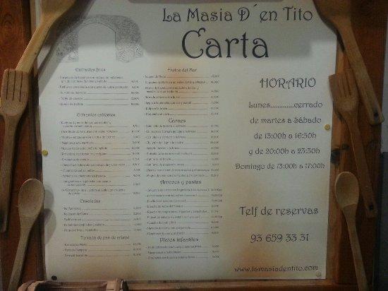 Виладеканс, Испания: La Masia D´en Tito