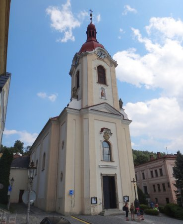 Stramberk, Tsjechië: church