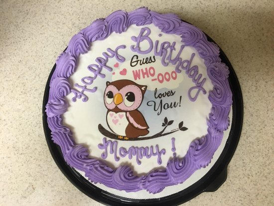 Enola, PA: Birthday ice cream cake