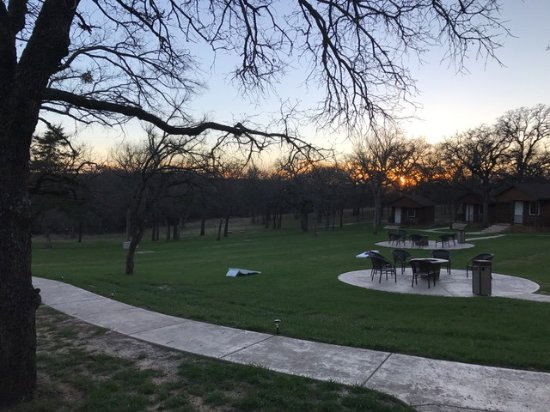 Azle, TX: View from our cabin