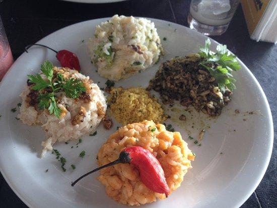Capone: Quatuor de risotto délicieux