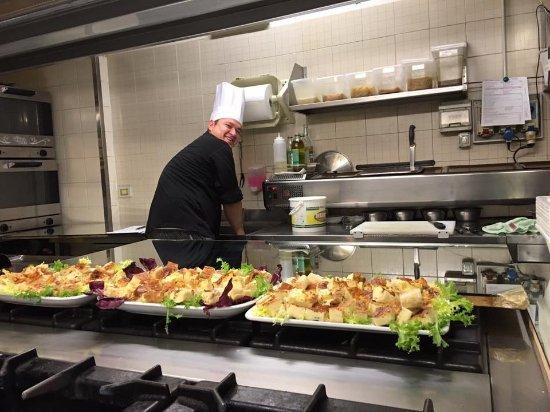 ALFIO Ristorante Pizzeria Bar: Il nostro Chef Esteban