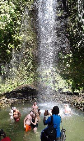 Water Fall Fun on South Bound Tour