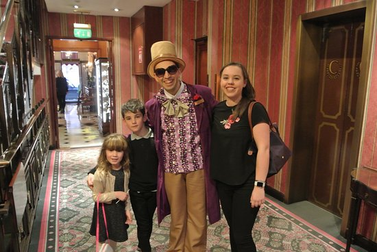 The Chesterfield Mayfair: Willy Wonka at the Chesterfield