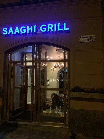 Solna, Suède : Trevlig persisk restaurang.