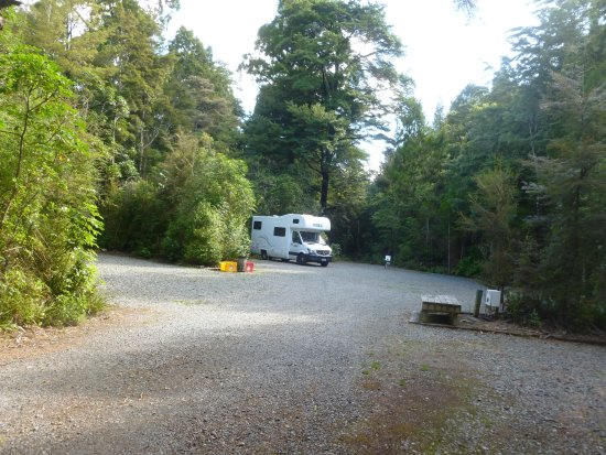 Havelock, New Zealand: Alone on the campsite