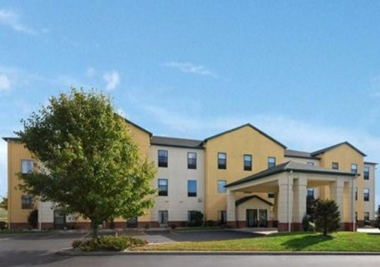 Vincennes, IN: Front of Comfort Suites Hotes