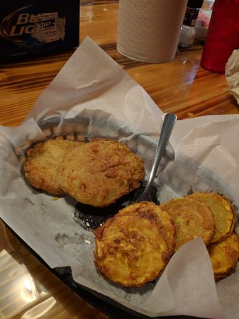 Christiansburg, VA: Fried Green Tomatoes and Squash