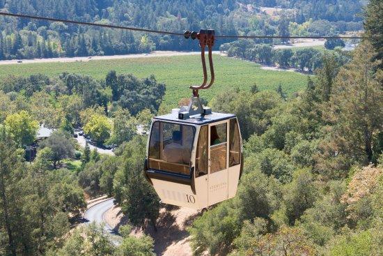 แคลิสโตกา, แคลิฟอร์เนีย: Experience Napa's only Aerial Tram!