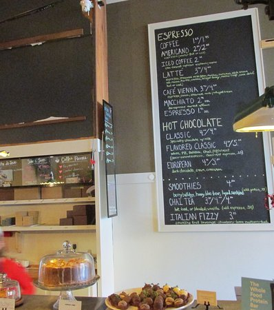 Algona, IA: Coffee, tea or Hot chocolate just the thing to go with your meal