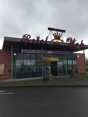 Buzancais, France: Restaurant Royal Wok